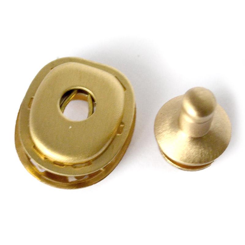 Кнопка латунная