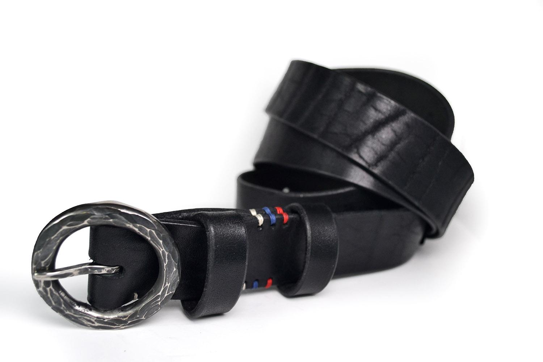 Кожаный ремень ручной работы RUS N1