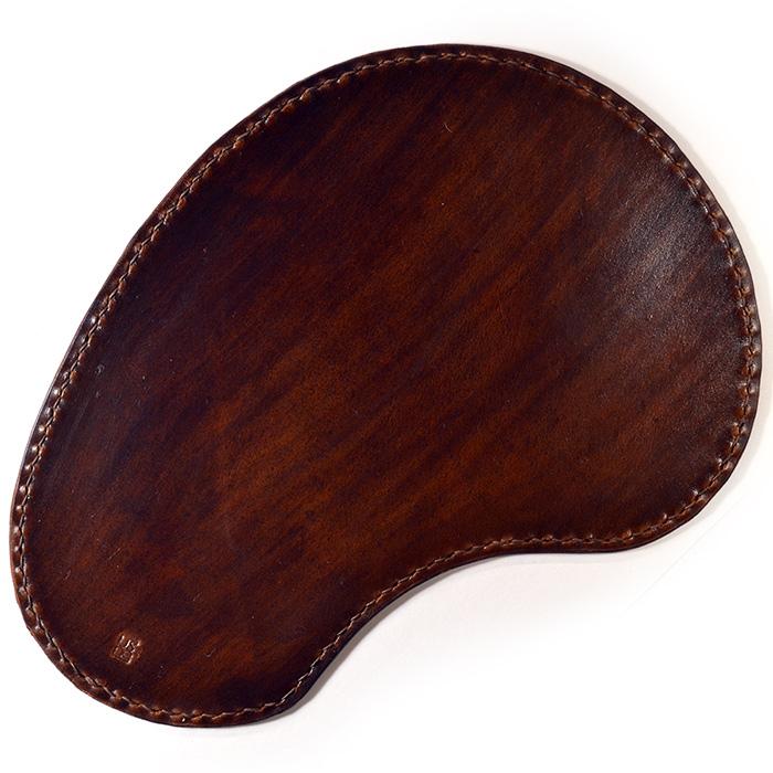 кожаный коврик для мыши track дубовая кора, для левшей [ugmm477]